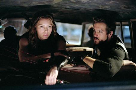 Abigail Whistler Jessica Biel (left) stars as 'Abigail' and Ryan Reynolds (right) stars as 'Hannibal King' in New Line Cinema's third installment of the BLADE series, BLADE TRINITY.