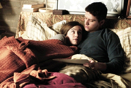 Caroline Dhavernas  as Juliana and Ryan Phillippe as Eric in Universal Pictures' Breach - 2007