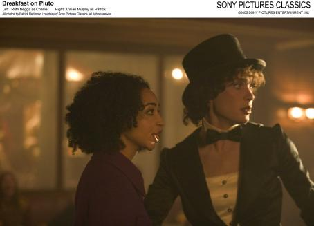 Ruth Negga Left:  as Charlie; Right: Cillian Murphy as Patrick; All photos by Patrick Redmond/courtesy Sony Pictures Classics, all rights reserved.