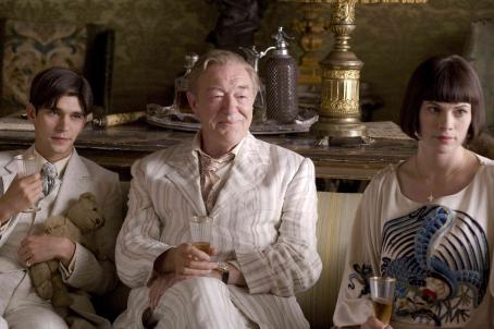 Michael Gambon Ben Wishaw as Sebastian Flyte,  as Lord Marchmain and Hayley Atwell as Julia Flyte. Photo credit: Nicola Dove/Miramax Films