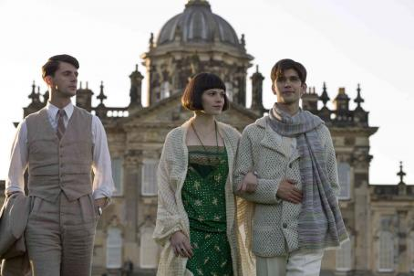 Hayley Atwell Matthew Goode as Charles Ryder,  as Julia Flyte, and Ben Whishaw as Sebastian Flyte. Photo credit: Nicola Dove/Courtesy of Miramax Films.