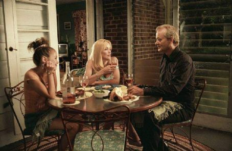 Bill Murray Alexis Dziena (left), Sharon Stone (center) and  (right) star in Jim Jarmusch's BROKEN FLOWERS, a Focus Features release. Photo by David Lee.