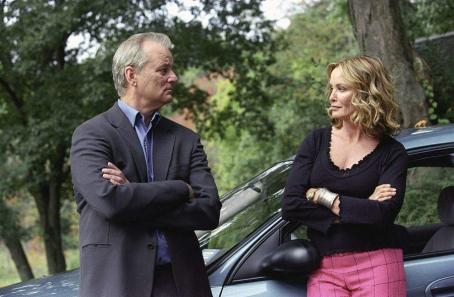 Bill Murray  (left) and Jessica Lange (right) star in Jim Jarmusch's BROKEN FLOWERS, a Focus Features release. Photo by David Lee.