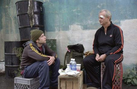 Bill Murray Mark Webber (left) and  (right) star in Jim Jarmusch's BROKEN FLOWERS, a Focus Features release. Photo by David Lee.