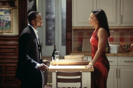 Taye Diggs  and Sanaa Lathan in Fox Searchlight's Brown Sugar - 2002