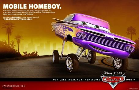 Cheech Marin Ramone (voiced by ) in Buena Vista Pictures Distribution's Cars - 2006