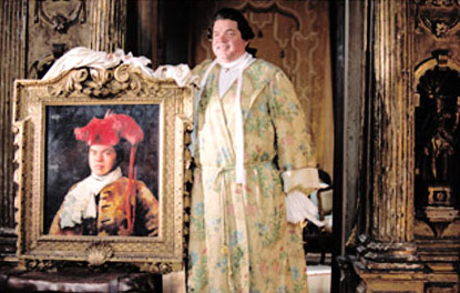 Oliver Platt  as Papprizzio in Touchstone Pictures' Casanova - 2005