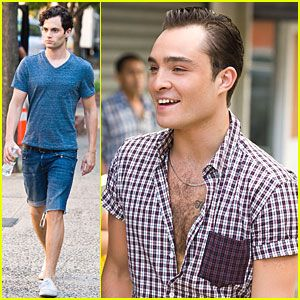 Ed Westwick & Penn Badgley: Gossip Guys