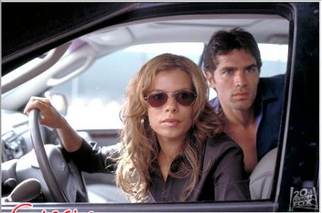 Lisa Vidal  and Eduardo Verastegui in 20th Century Fox's Chasing Papi - 2003