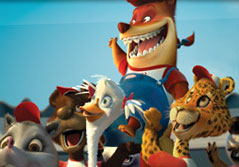 Amy Sedaris Foxy Loxy (voiced by ) in Chicken Little, directed by Mark Dindal and distributed Walt Disney Pictures - 2005