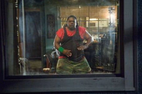 Cedric the Entertainer A scene from action comedy movie 'Code Name: The Cleaner.'