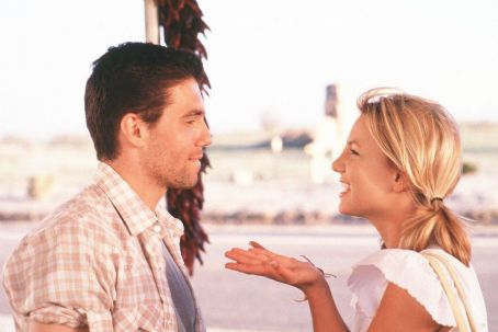 Anson Mount  as Ben and Britney Spears as Lucy in Paramount's Crossroads - 2002
