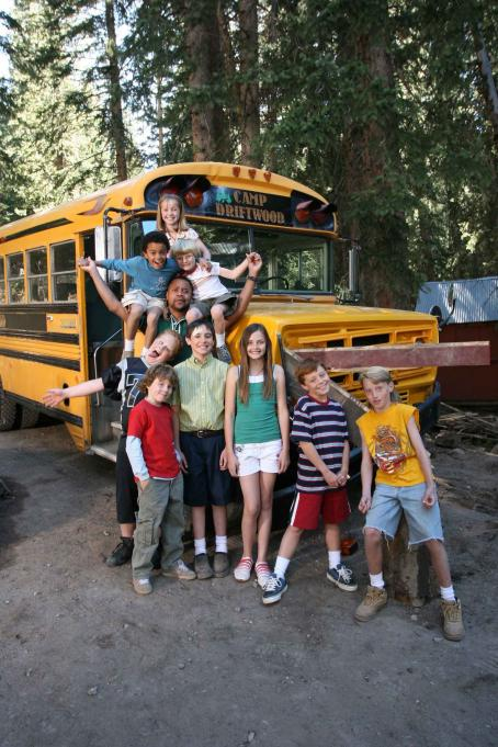 Spencir Bridges (From top, left to right) Molly Jepson, , Talon G. Akerman, Cuba Gooding Jr., Tyger Rawlings, Taggart Hurtubise, Tad D'Agostino, Telise Galanis, Dallin Boyce, and Zachary Allen star in DADDY DAY CAMP, a TriStar Pictures release. Photo c