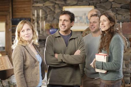 Norbert Leo Butz - Left to right: AMY RYAN, STEVE CARELL, FRANK WOOD, NORBERT LEO BUTZ, JESSICA HECHT in DAN IN REAL LIFE © Touchstone Pictures. All Rights Reserved. Photo credit: Merie W. Wallace, SMPSP
