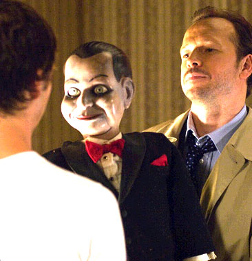 Donnie Wahlberg  as Det. Jim Lipton in Universal Pictures' Dead Silence - 2007