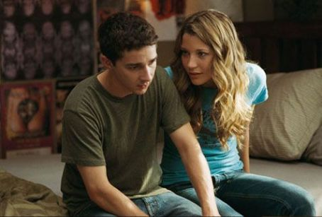 Sarah Roemer Kale (Shia LaBeouf) with Ashley () in Disturbia - 2007