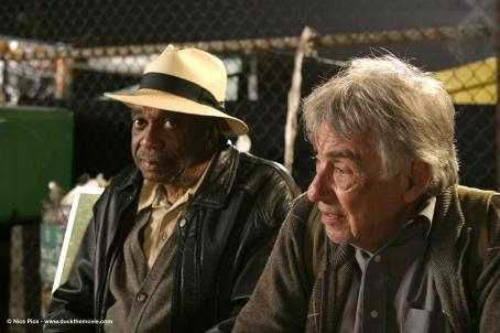 Philip Baker Hall Arthur () and Norman (Bill Cobbs) share a bench. Photo credits by Mark Lampert