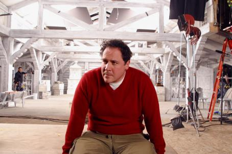 Jon Favreau Director  on the set of New Line Cinema's upcoming family comedy, Elf.