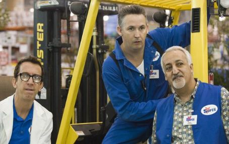 Andy Dick, Harland Williams and Brian George in Employee of the Month - 2006