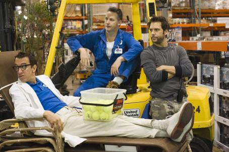 Andy Dick , Harland Williams and Dane Cook in comedy movie 'Employee of the Month' 2006