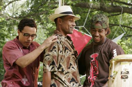 Feel the Noise (l to r) Victor Rasuk, Giancarlo Esposito and Omarion Grandberry star in TriStar Pictures' musical drama FEEL THE NOISE. Photo by: Will Sterns.