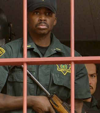 Harold Perrineau  star as Lt. Jackson in drama crime 'Felon.'