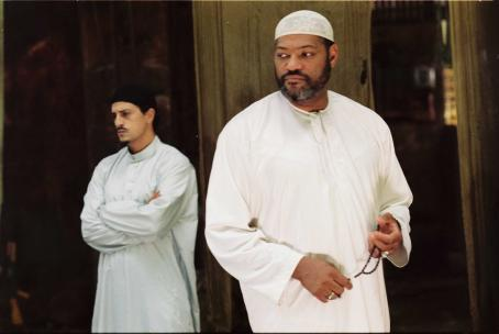Five Fingers - Dark Eyes (Said Taghmaoui) and Ahmad (Laurence Fishburne) in FIVE FINGERS. Photo credit: Patti Perret
