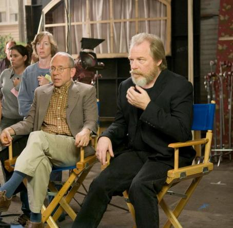 Bob Balaban  as Philip Koontz and Michael McKean as Lane Iverson in director Christopher Guest's For Your Consideration. Photo credit: Suzanne Tenner © 2006 Shangri-La Entertainment, LLC.