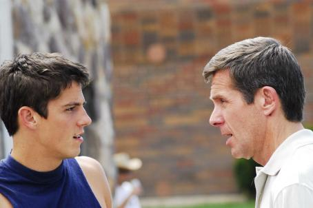 Gary Cole Coach Gelwix () welcomes Rick (Sean Faris)