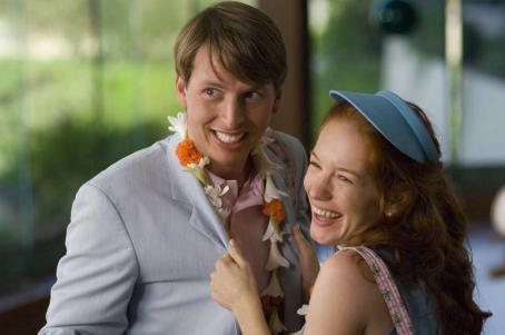 Kristen Wiig Jack McBrayer and  in Universal Pictures' Forgetting Sarah Marshall.