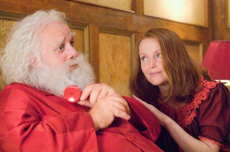 "Paul Giamatti PAUL GIAMATTI as Nick ""Santa"" Claus and MIRANDA RICHARDSON as Annette Claus in Warner Bros. Pictures' holiday comedy ""Fred Claus,"" distributed by Warner Bros. Pictures. The film also stars Vince Vaughn. Photo by Jaap Buitendi"