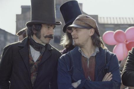 Gangs of New York Daniel Day-Lewis and Leonardo DiCaprio in Miramax's  - 2002