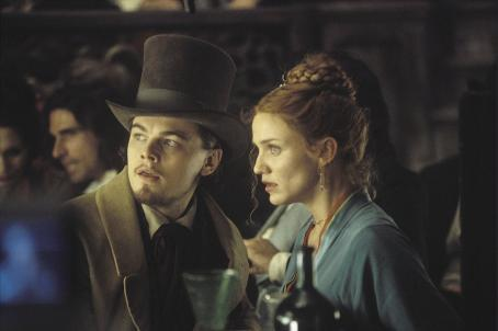 Gangs of New York Leonardo DiCaprio and Cameron Diaz in Miramax's  - 2002