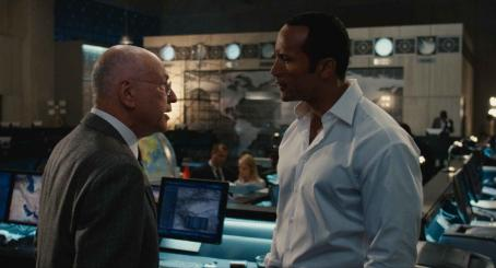 "Alan Arkin ALAN ARKIN stars as the Chief and DWAYNE JOHNSON stars as Agent 23 in Warner Bros. Pictures' and Village Roadshow Pictures' action comedy ""Get Smart,"" distributed by Warner Bros. Pictures. The film also stars Steve Carell and Anne"