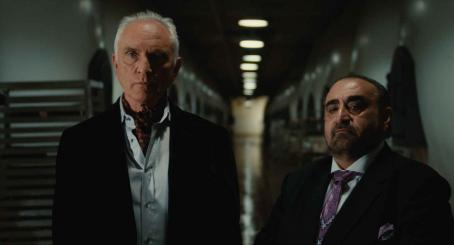 "Terence Stamp TERENCE STAMP as Siegfried and KEN DAVITIAN as Shtarker in Warner Bros. Pictures' and Village Roadshow Pictures' action comedy ""Get Smart,"" distributed by Warner Bros. Pictures. The film stars Steve Carell, Anne Hathaway, Dwayne Jo"