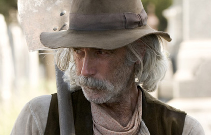 Sam Elliott  as Caretaker in Sony Pictures' Ghost Rider - 2007