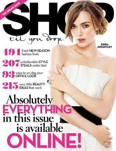 Keira Knightley - Shop til you drop Magazine Cover [Australia] (May 2011)
