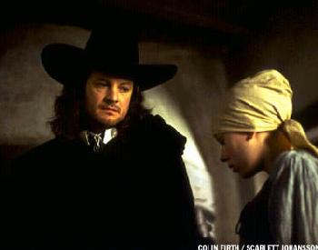 Girl with a Pearl Earring Colin Firth and Scarlett Johansson in  - 2003