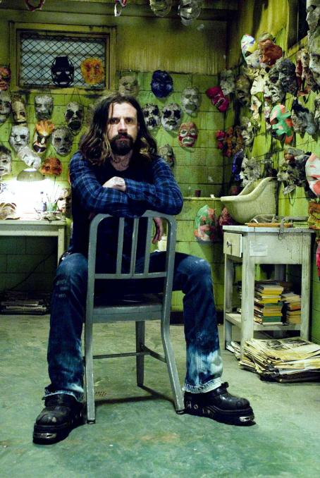 Rob Zombie  on the set of his film, Halloween. Photo by: Marsha Blackburn LaMarca/Dimension Films, 2007