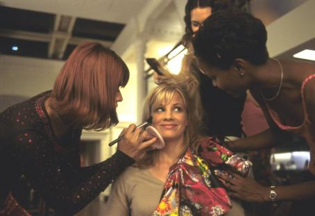Ivana Milicevic , Monica Potter and Tomiko Fraser in Universal's Head Over Heels - 2001
