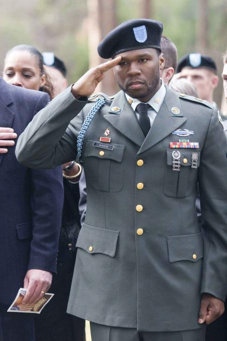 Home of the Brave 50 Cent as Jamal Atkins in . Photo by: Courtesy of Metro-Goldwyn-Mayer Pictures Inc. © 2006  Productions, Inc.