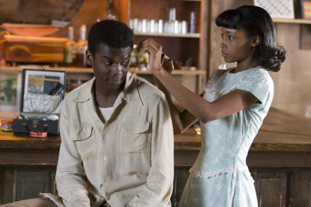 Yaya Alafia Gary Clark Jr. and Yaya DaCosta in Honeydripper.