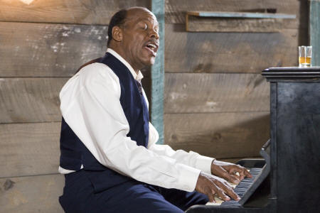 Honeydripper Danny Glover performs in ''