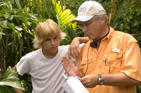 Jimmy Buffett Mullet Fingers (Cody Linley) and Mr. Ryan ( ) in New Line Cinema Productions, Hoot