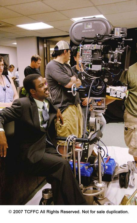 I Think I Love My Wife Director Chris Rock on the set of I THINK I LOVE MY WIFE. Photo Credit: Phil Caruso