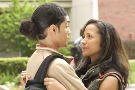 Rick Gonzalez  as Wilson De Leon, Jr. and Wanda De Jesus as Millie DeLeon in Illegal Tender - 2007