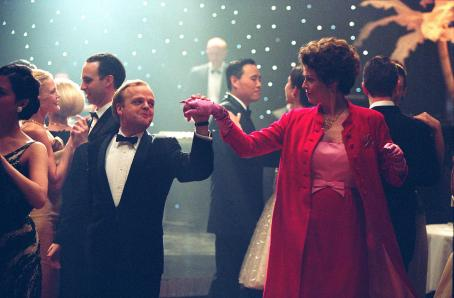 Toby Jones  as Truman Capote and Sigourney Weaver as Babe Paley in director Douglas McGrath's Infamous, a Warner Independent Pictures release. Photo Credit: Deana Newcomb © 2005 Warner Bros. Entertainment Inc.