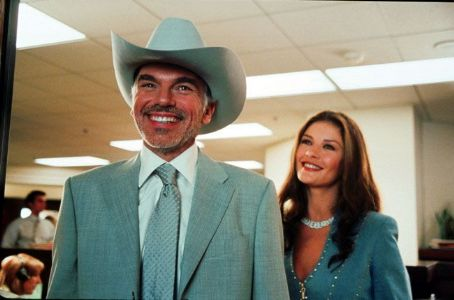 Billy Bob Thornton and Catherine Zeta-Jones in Universal's Intolerable Cruelty - 2003