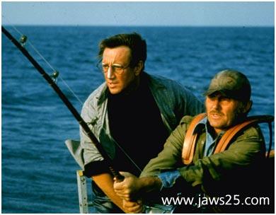 Roy Scheider Steven Spielberg's Jaws - 1975