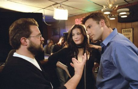 Jersey Girl Kevin Smith directs Ben and Liv